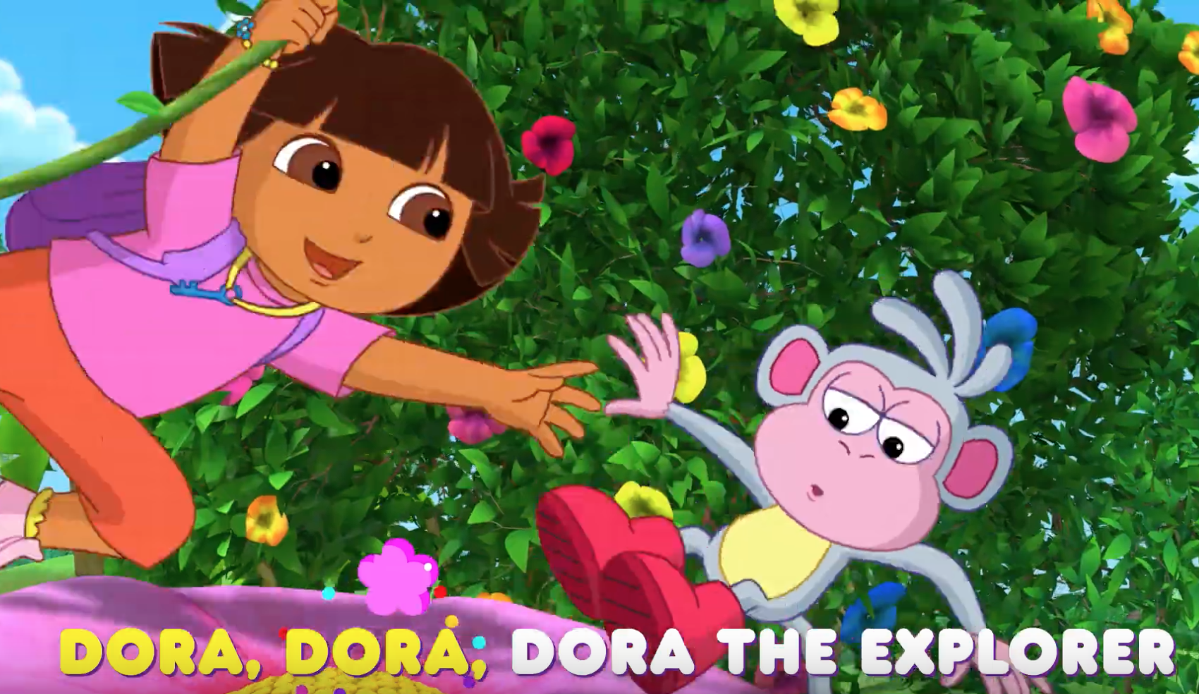 Dora's Singalong with friends