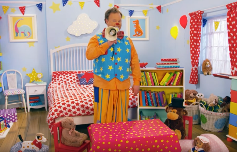 Mr Tumble - in the Library