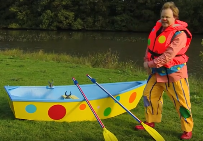 Mr Tumble - Row Boat
