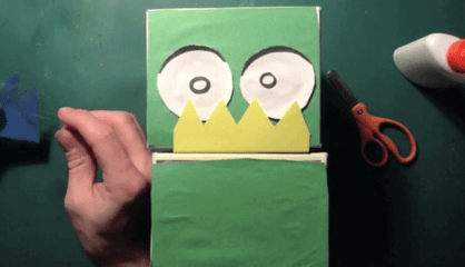 How to Make a Shoebox Puppet