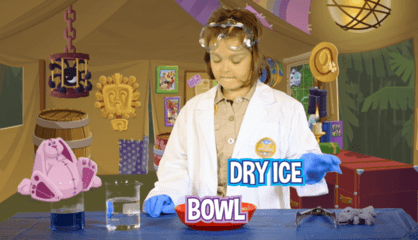 How To Make A Dry Ice Bubble