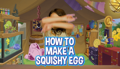 Squishy Egg Experiment